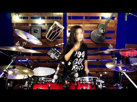 DJ Udah Pada Ngopi Belum_TIK TOK REMIX... drum cover By Nur Amira Syahira....