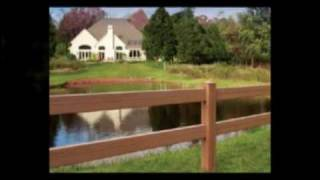 Vinyl Split Rail Fence | Vinyl Fences