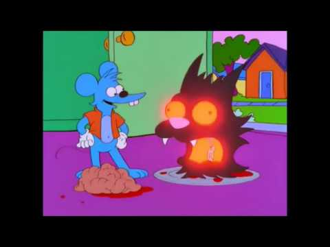 Bart U0026 Lisa Gets Trapped Inside The Itchy And Scratchy Show