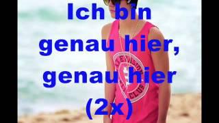 Justin Bieber ft. Drake - Right Here ( DEUTSCHE  ÜBERSETZUNG)