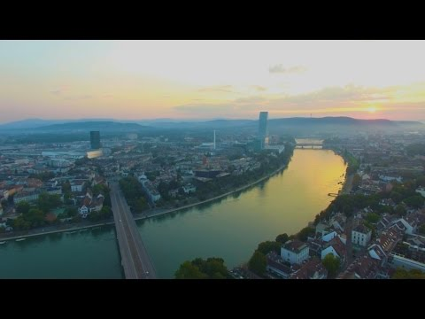 Sunrise Over Basel - Drone Flight