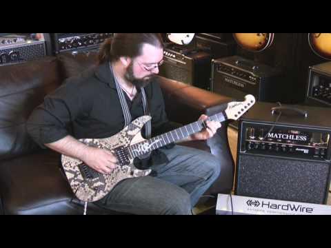 Washburn - N4 Snakeskin Nuno Bettencourt signature guitar
