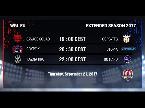WGL EU Extended Season 2017 - Week 3 - Day 1