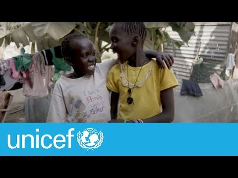 Water: a daily chore for two sisters in South Sudan   UNICEF