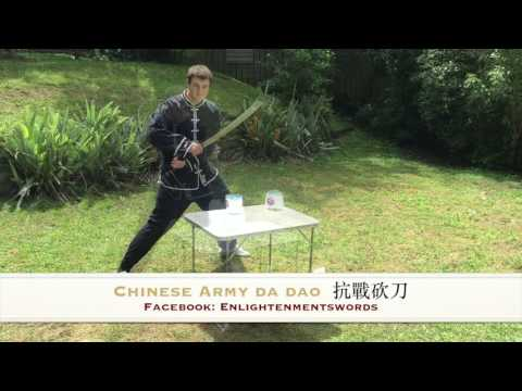 Enlightenment Swords: Chinese Army Da Dao