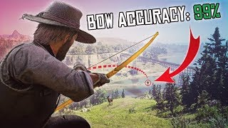 INCREDIBLE SHOT WITH THE BOW AND ARROW - Red Dead Redemption 2