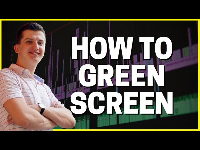 How To GREEN SCREEN in Premiere Pro