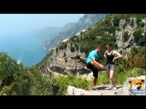 Ep 24 Hiking The Path of the Gods Amalfi Coast above Positano, Italy (Sentiero degli Dei)