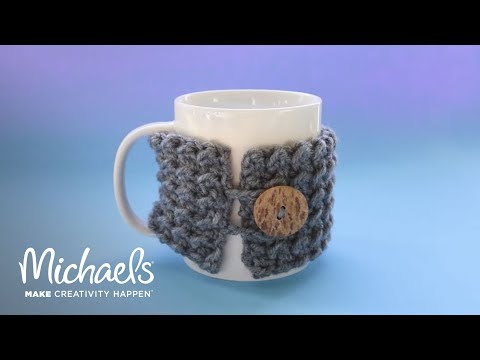 How to Crochet a Koozie | Michaels