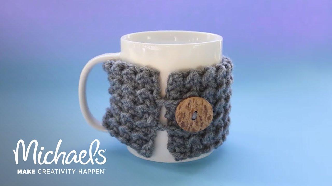 How To Crochet A Koozie Michaels Youtube