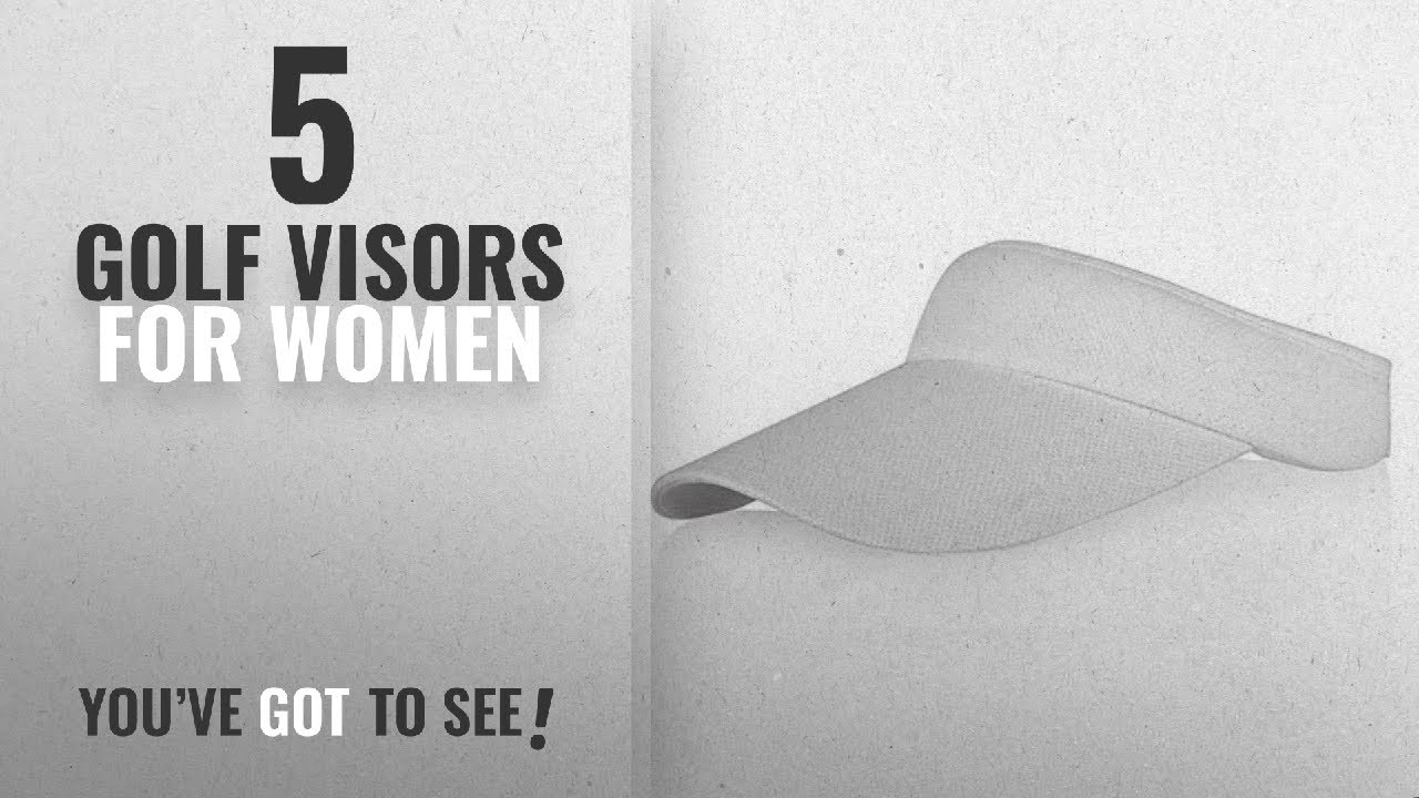 Top 10 Golf Visors For Women  2018   Veatree Adjustable Sun Visors for Women  and Men fb33641a8287