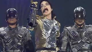 "Michael Jackson (with drummer Jonathan Moffett) ""They Don't Care About Us""  (Munich 1997)"