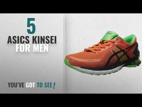 top-10-asics-kinsei-[2018-]:-asics-men's-gel-kinsei-6-running-shoe,-fiesta/black/green-gecko,-12-m