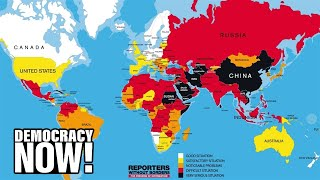 "U.S. Plunges in Global Press Freedom Rankings As Obama Wages ""War on Whistleblowers"""