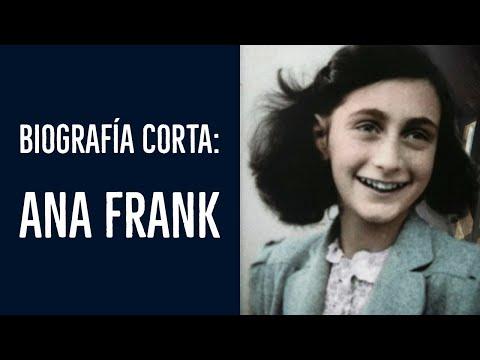 Ana Frank - Biografía corta y completa - YouTube
