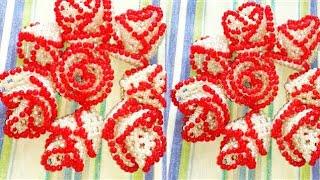 পুতির গোলাপফুল||How to make beaded rose||beads flower||Putir golap||diy craft
