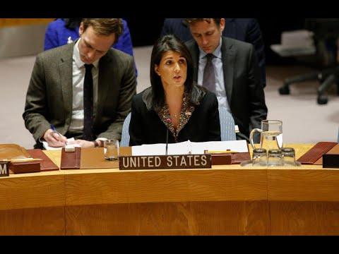 فيتو أمريكي على مشروع قرار عربي بشأن القدس  - نشر قبل 3 ساعة