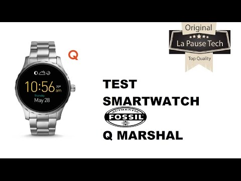 Fossil Q Marshal : smartwatch Android Wear haut de gamme