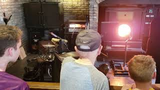 Glass blowing gone wrong at Disney