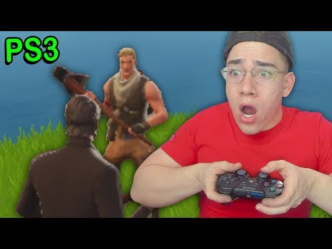 FORTNITE ON THE PS3...  (Fortnite PS3 & Xbox 360)