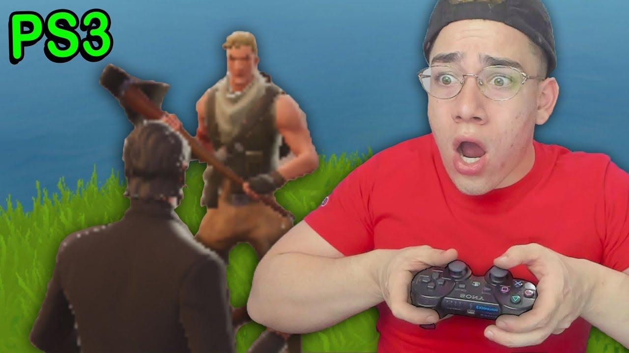 Fortnite On The Ps3 Fortnite Ps3 Xbox 360 Youtube