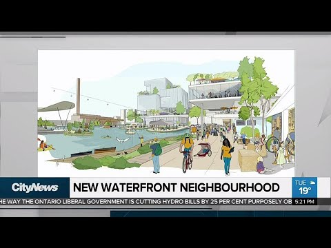 Google sister company to invest in high-tech neighbourhood on Toronto's waterfront
