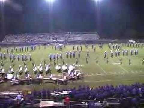 "Lyman High School Band 2007 ""The Last Gangster"" Opener"