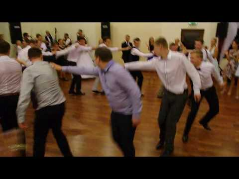 "Slavka and Duane's Wedding in Slovakia - ""casual folk dancing"""