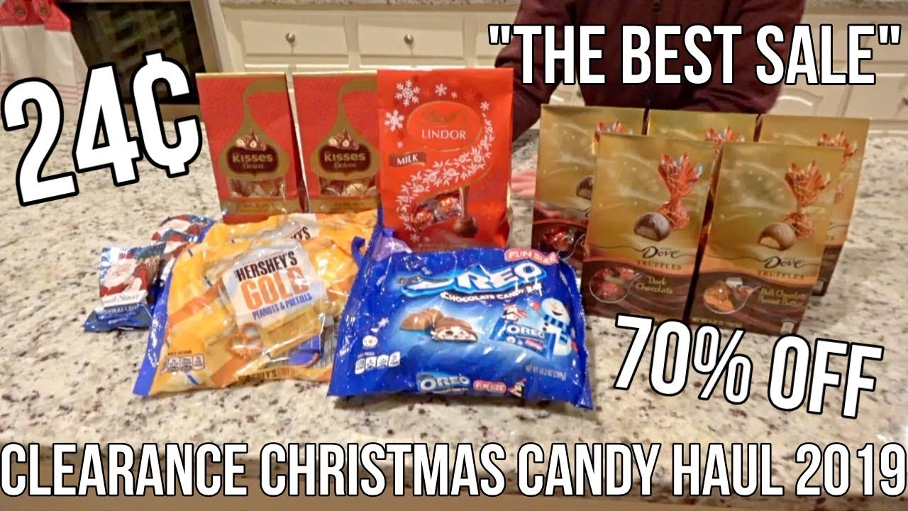 Kroger Christmas Hours 2019.Best Kroger Christmas Candy Clearance Haul 2019
