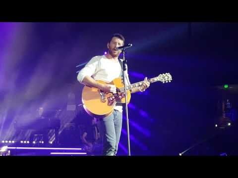Brett Eldredge The Long Way . New song . Live Greenville SC