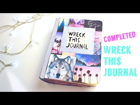 Completed Wreck This Journal!