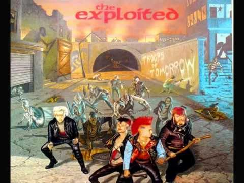 The Exploited - Troops of Tomorrow FULL ALBUM 1982 (2001 reissue)