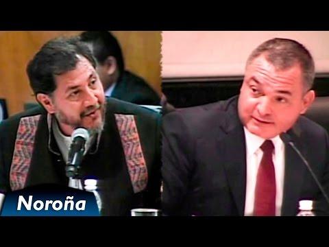 Fernández Noroña vs García Luna - [2010] [COMPLETO] [Segunda Comparecencia]