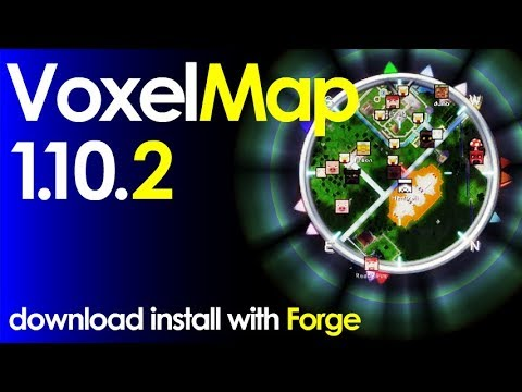 VOXELMAP Minecraft How To Download And Install Voxelmap - Voxelmap para minecraft 1 10 2