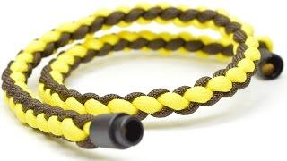 Make a 4 Strand Round Braid Necklace w/ Break-Away - BoredParacord.com
