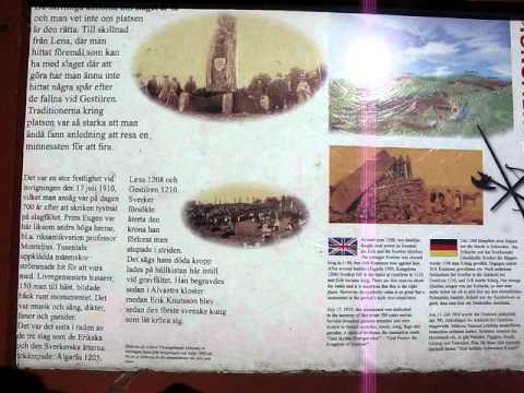 The battlefield of Gestilren