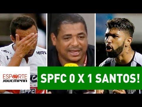 OLHA o que VAMPETA falou após São Paulo 0 x 1 Santos!