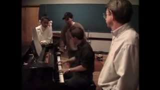 """A Whole New World"" Recording Session"