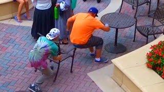 Chair Pulling Prank!