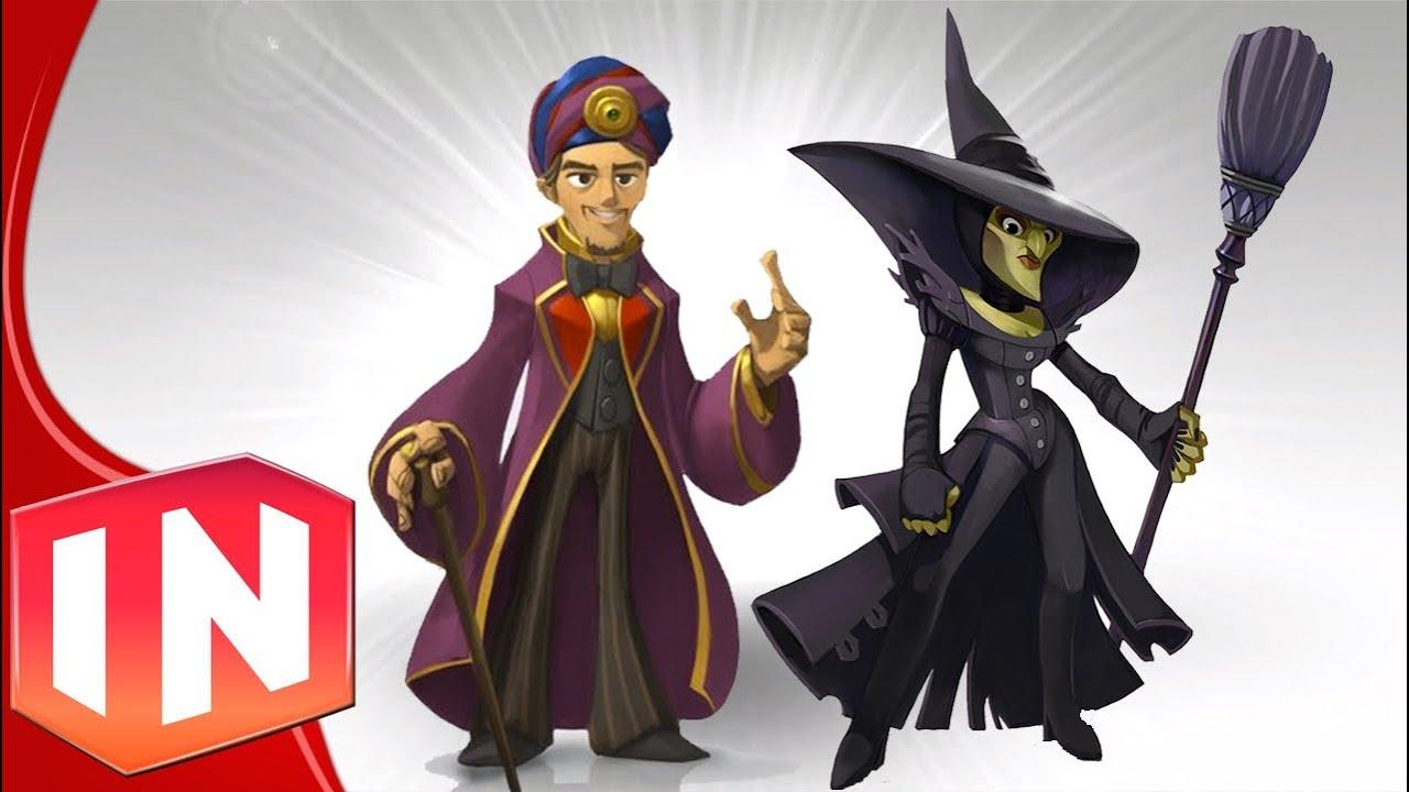 Disney Infinity Oz Amp Wicked Witch Concept Art Revealed