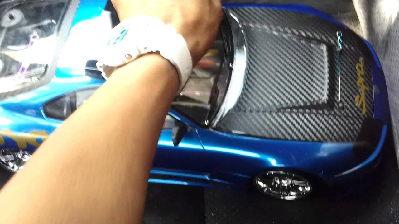 My Rc Drift Car Setup Hpi Toyota Supra Aero Body Youtube
