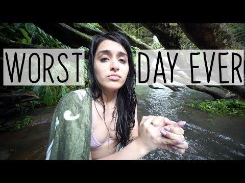 don't do dumb things like me  travel vlog fail