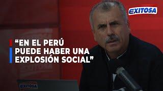 ????????Nicolás Lúcar advierte a políticos: Puede haber una explosión social como en Chile