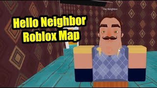 Hello Neighbor {but in roblox with no basement}