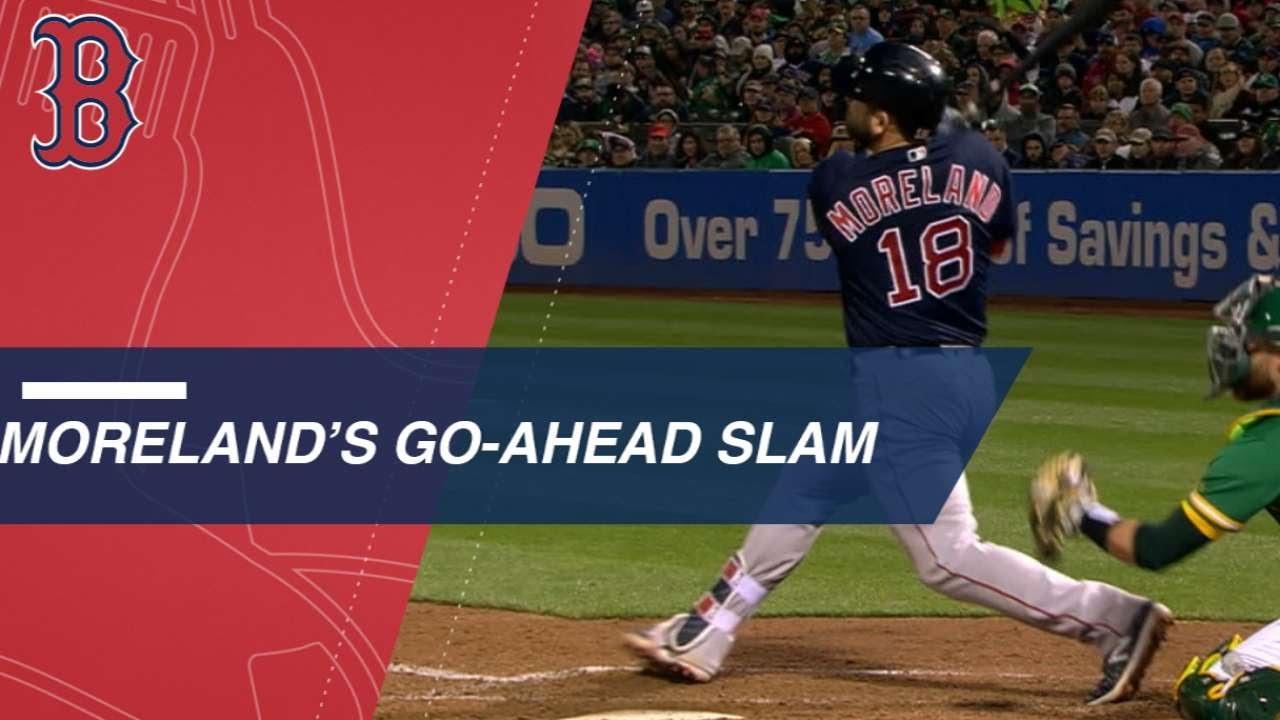 Moreland's go-ahead grand slam - YouTube