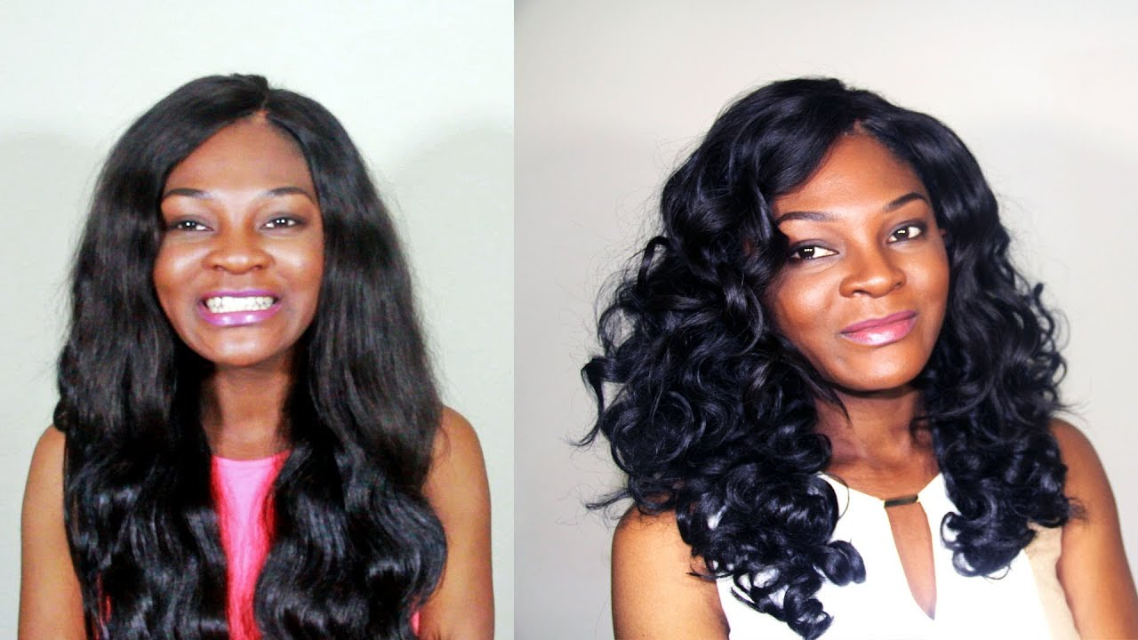 How to curl synthetic hair freetress russian bundle wave youtube pmusecretfo Choice Image