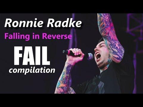 Ronnie Radke | Falling in Reverse |  FAIL compilation | RockStar FAIL