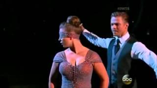 Bindi Irwin & Derek   Week 9   Viennese Waltz
