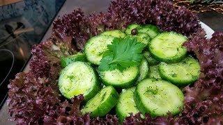 2- часовой маринад для огурцов ! И супер салат на новый год!!! 😃
