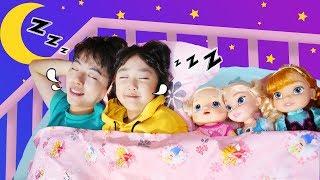 슈퍼 마슈와 영어 동요 배워요! Ten in the Bed - Nursery Rhymes & Kids Songs 마슈토이 Mashu ToysReview